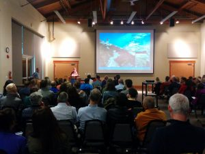 More than 160 folks came to Craig's 100  Classic Hikes book launch in Seattle (June 2016)