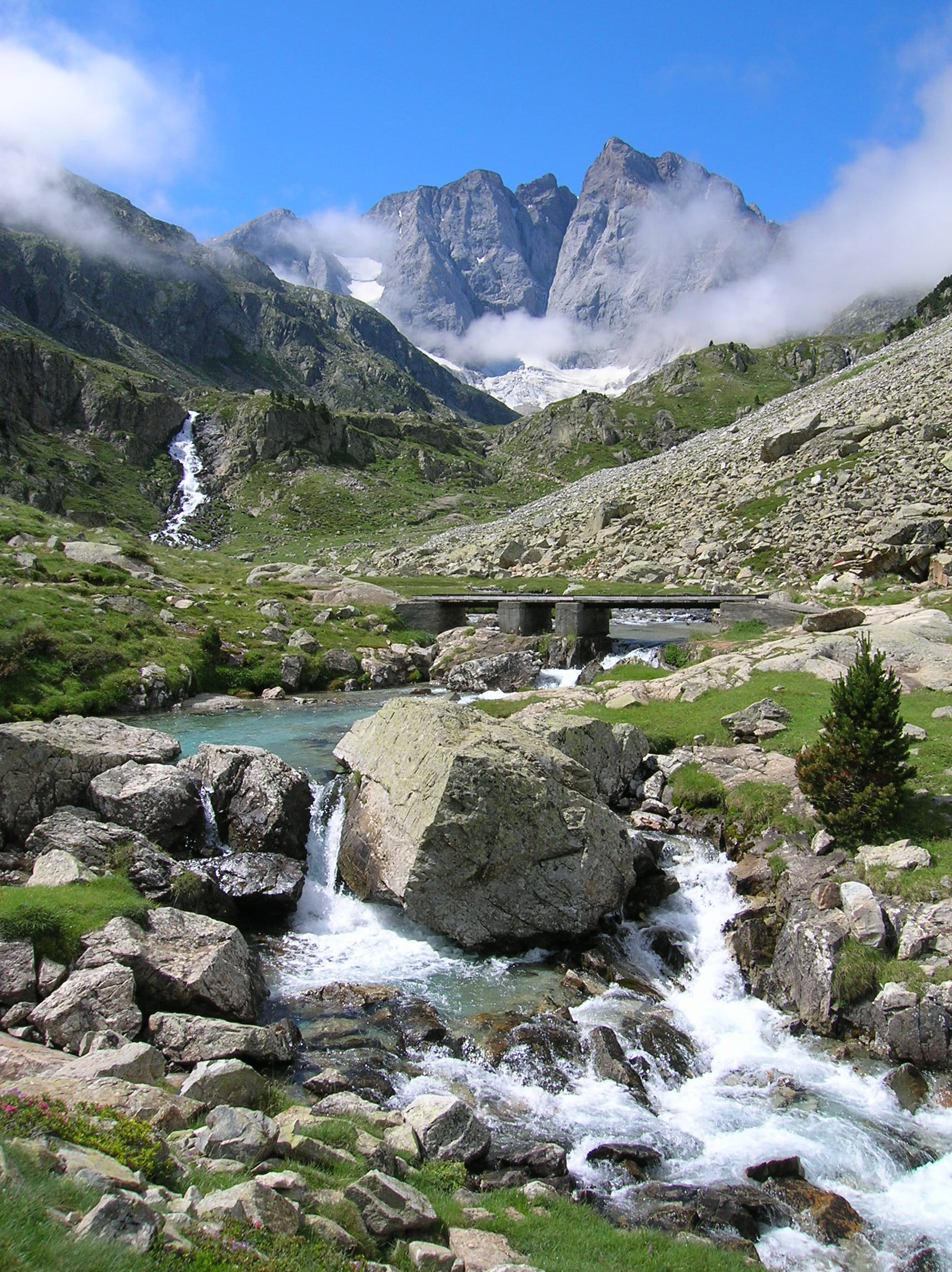 Vignemale in the French Pyrenees